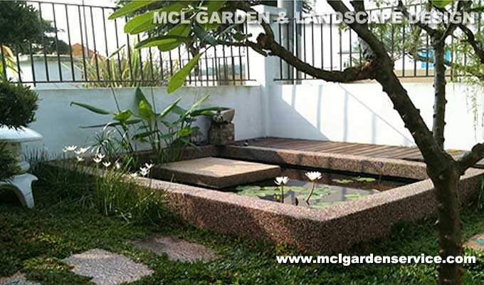 Landscape design build welcome to mcl garden for Koi fish pond design in malaysia