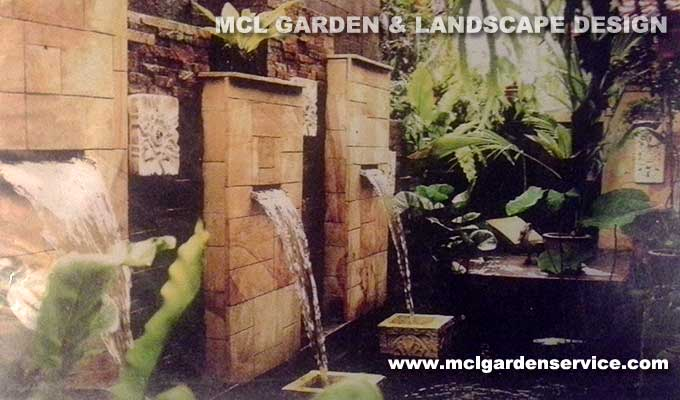 Koi pond water feature welcome to mcl garden for Garden pond design malaysia