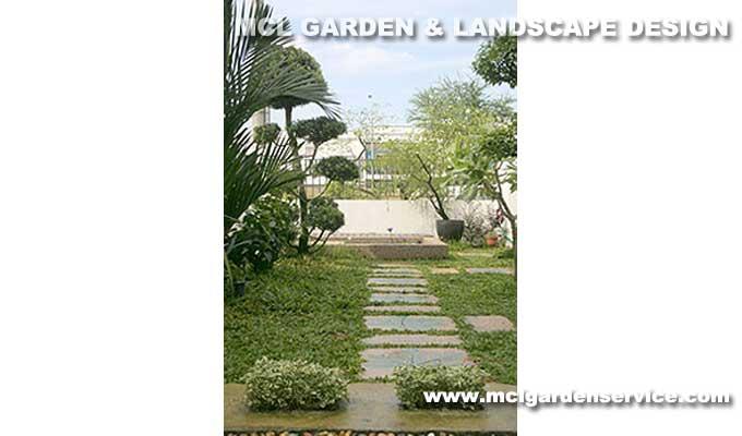 Modern Tropical Garden Theme Johor